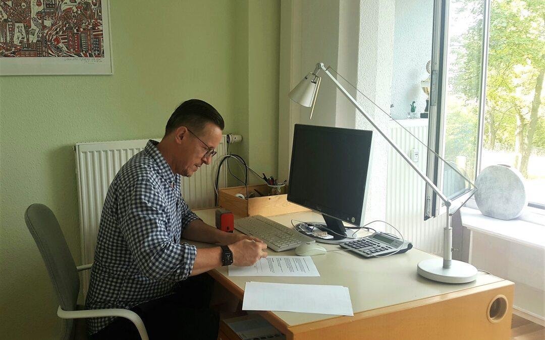 Zwischennutzung eines Büros