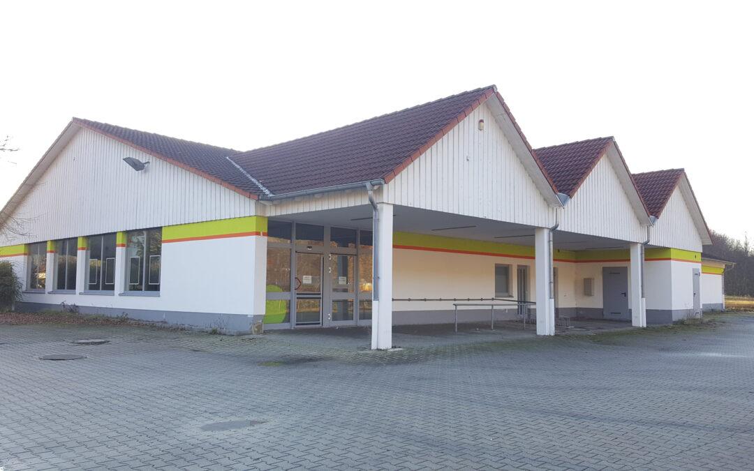 Ehemaliger Supermarkt bietet 1.000m² Raum für Ideen
